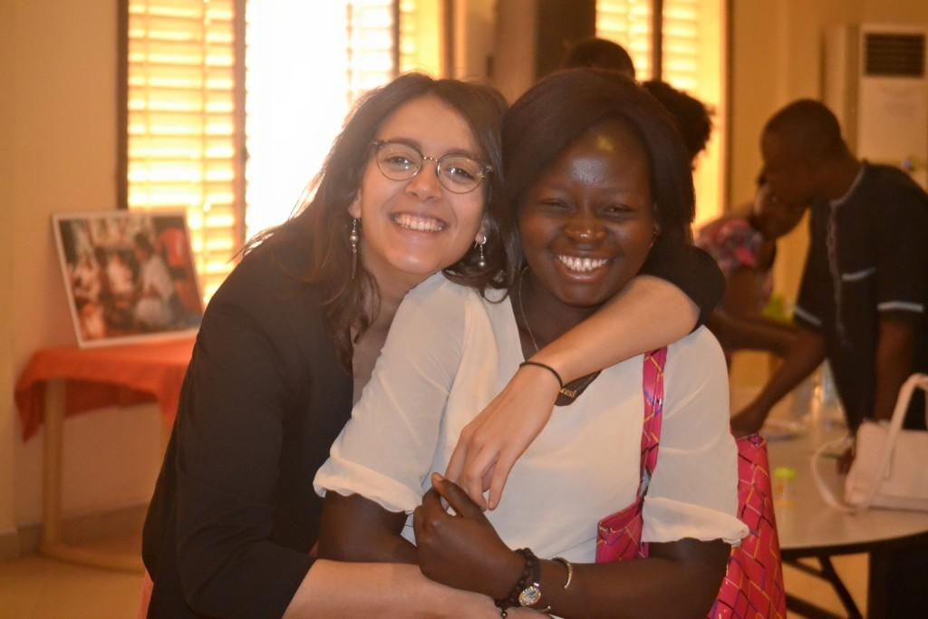 Shereen B - Chargé de projet Asmae et Elisabeth, une des fées des livres d'ICCV.