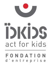 Logo IDKIDS fondation d'entreprise